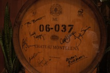 Signed Barrel by Cast of Bottle Shock