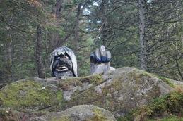 Troll on Mt. Floyen