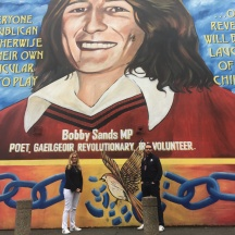 Mural to Bobby Sands.