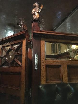 Snug at the Crown Bar
