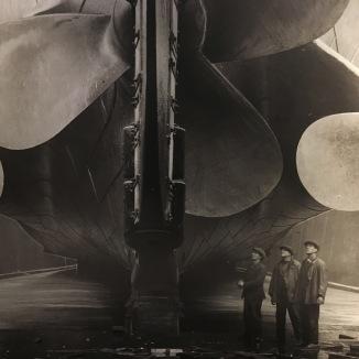 Picture of Titanic's Propellars
