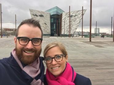 Tom & Emily at Titanic Museum