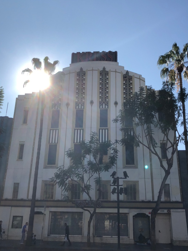 Art Deco Building on Hollywood