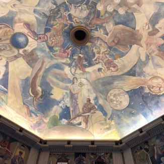 Ceiling in Griffith Observatory