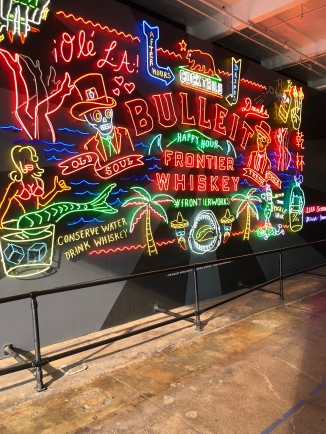 Bulleit Wall in Grand Central Market