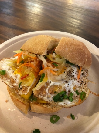 Sari Sari breakfast sandwich